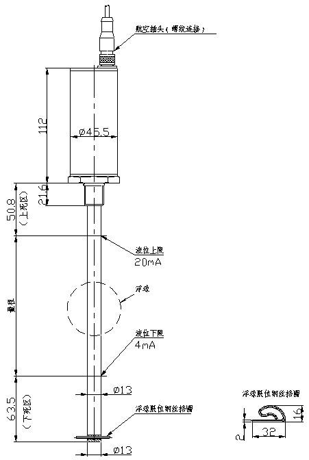灌装机械专用液位传感器